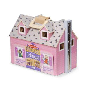 Преносима дървена къща за кукли Melissa & Doug MT13701
