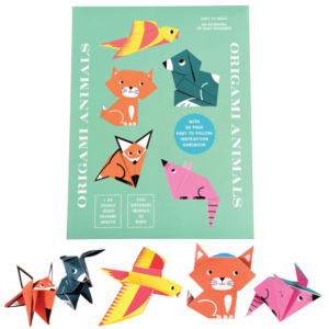 Творчески комплект оригами - Животни Rex London MT28102
