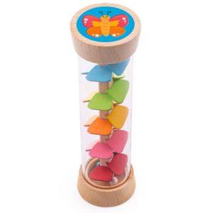 Бебешка цветна дрънкалка - Дъжд в градината Bigjigs MTBB550