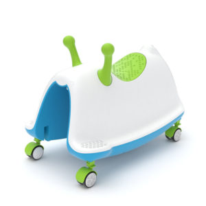 Детска играчка за яздене Chillafish Trackie - Зелена