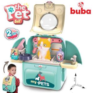 Детски комплект домашен любимец с раница Buba Коте