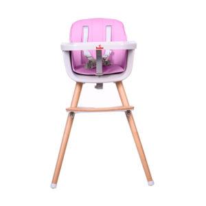 Детско столче за хранене Buba Carino - Розово