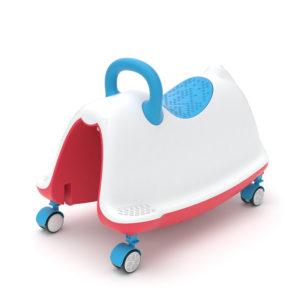 Играчка за яздене Chillafish Trackie - Синя