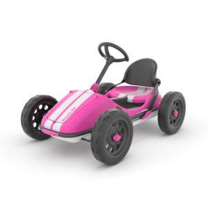 Картинг количка с педали Chillafish Monzi-RS - Розова