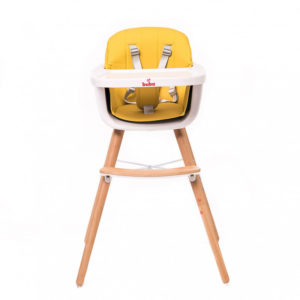 Столче за хранене Buba Carino - Жълто