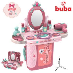 Тоалетка за деца Buba Beauty - Розова